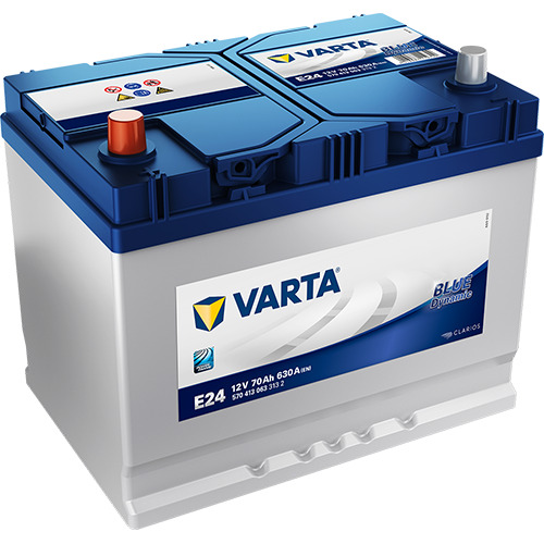 VARTA Blue Dynamic E24 70Ah 630A
