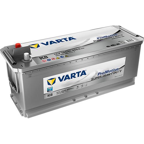 VARTA ProMotive SILVER K8 140Ah 800A