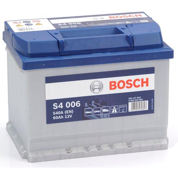 BOSCH S4006 60Ah 540A