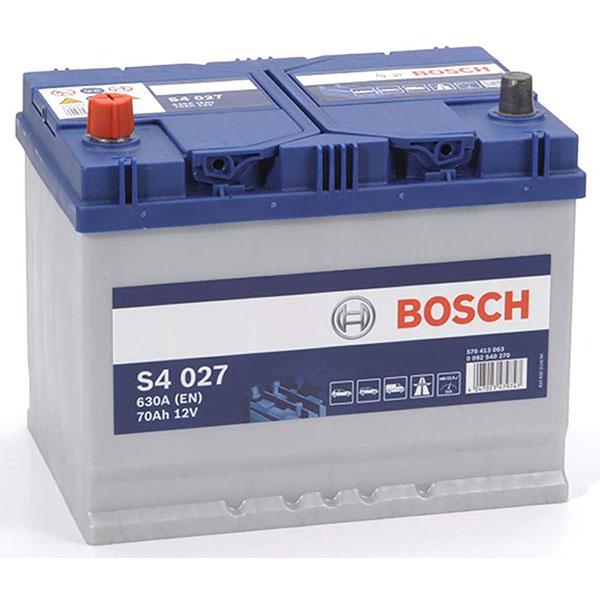 BOSCH S4027 70Ah 630A