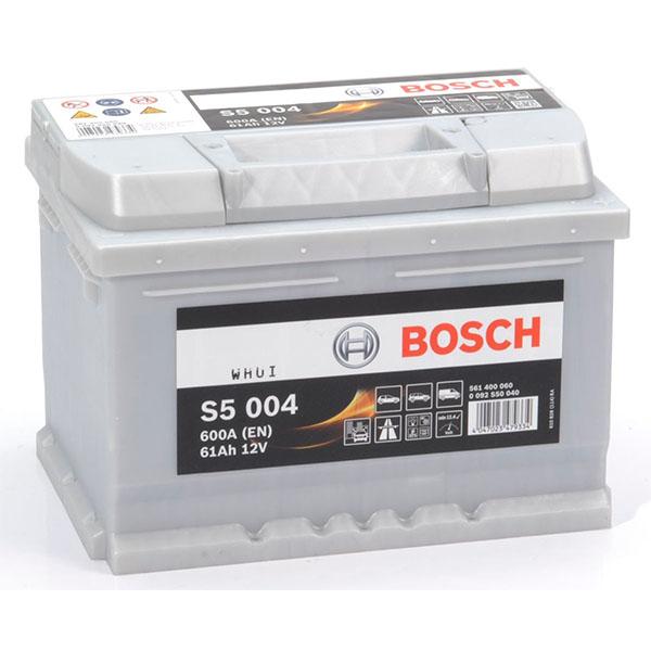 BOSCH S5004 61Ah 600A