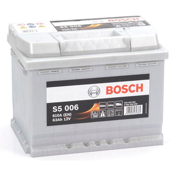 BOSCH S5006 63Ah 610A