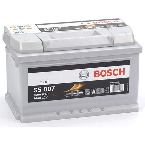 BOSCH S5007 74Ah 750A