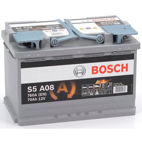 BOSCH S5A08 70Ah 760A