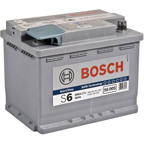 BOSCH S6005 60Ah 680A