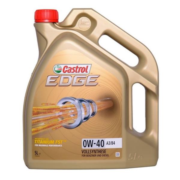 Castrol EDGE Titanium 0W-40 FST C3 5L