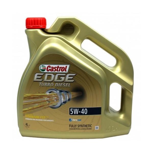 Castrol EDGE Turbo Diesel Titanium 5W-40 FST 4L