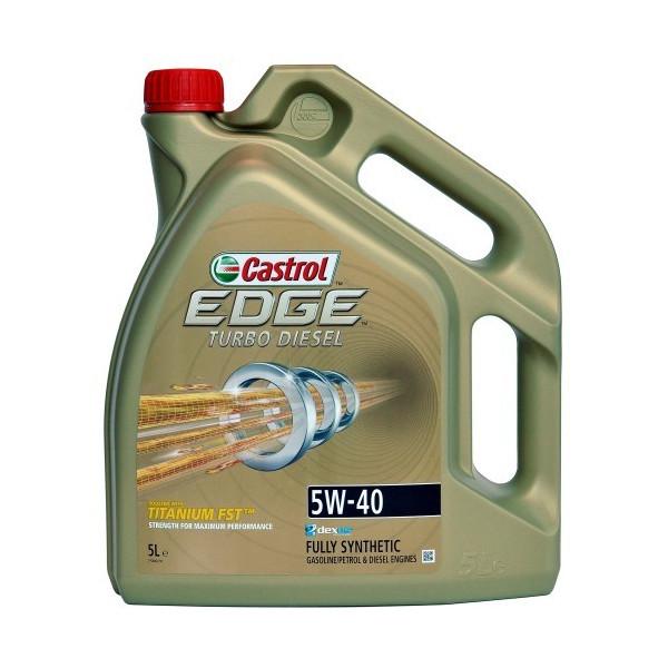 Castrol EDGE Turbo Diesel Titanium 5W-40 FST 5L