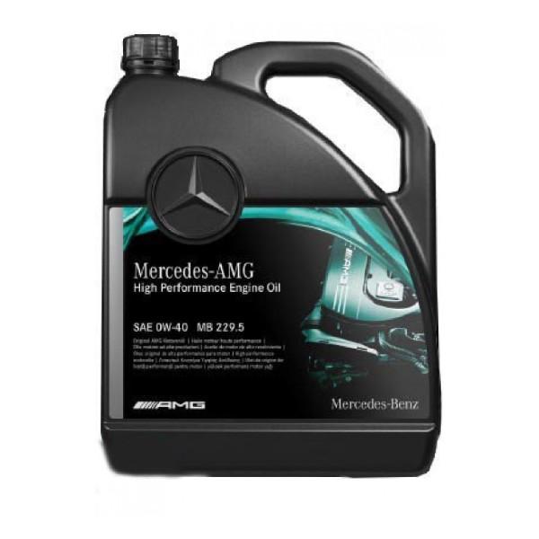 MB Motor Oil 229.5 AMG 0W-40 5L