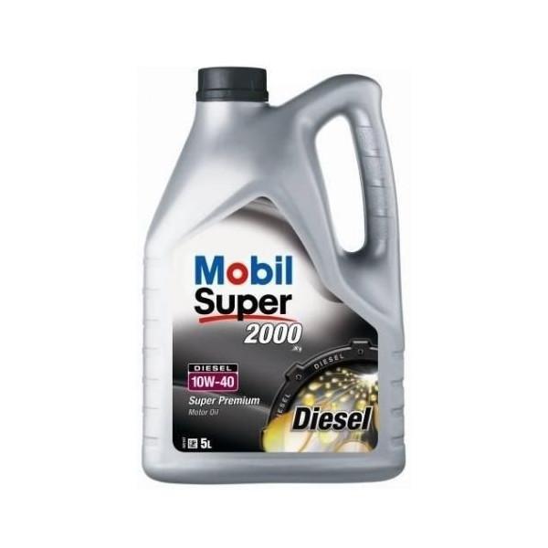 Mobil Super™ 2000 Diesel 10W-40 5L