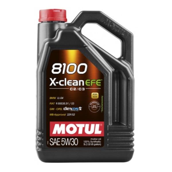 Motul 8100 X-Clean EFE C2/C3 5W-30 5L