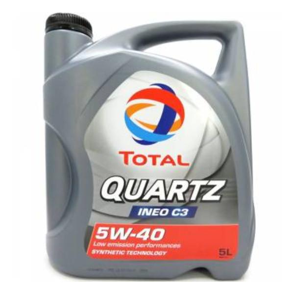 Total Quartz Ineo C3 5W-40 5L